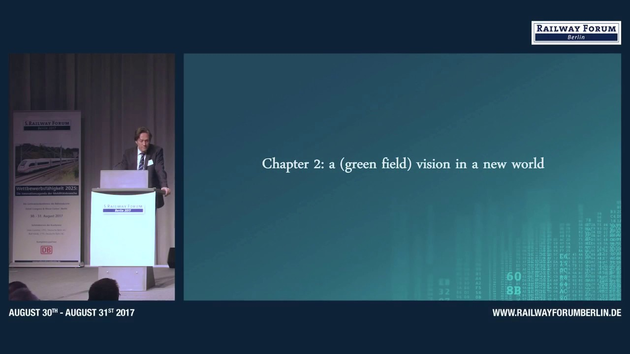 Download Michael Peter, CEO Division Mobility, Siemens AG zur Digitalisierung der Bahninfrastruktur