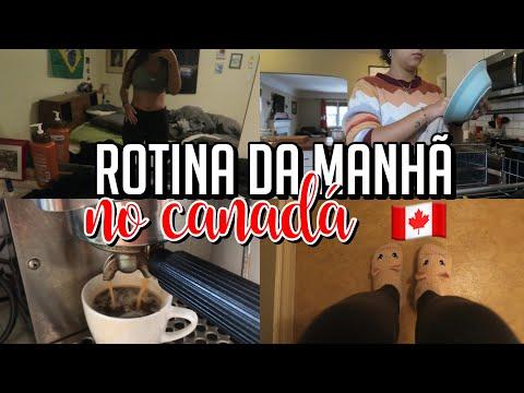 MINHA ROTINA PELA MANHÃ NO CANADÁ  INTERCÂMBIO VICTORIA BC
