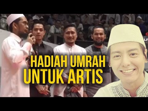 3 Artis Ini Dapat HADIAH Umrah dari Ust. Adi Hidayat