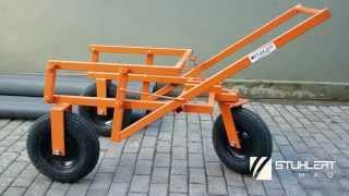 Carrinho de transporte de argamassa - STUHLERT MAQ®