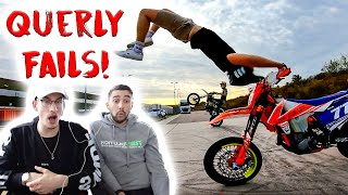 20 Minuten Dirtbike / Supermoto Querly Fails Reaktion!