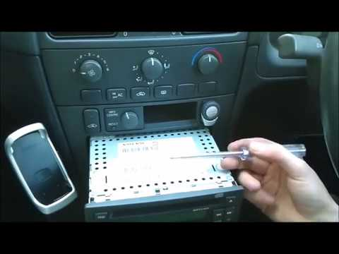 Enter Volvo Radio Code In Locked Stereo - YouTube