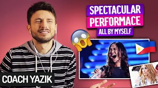 Download YAZIK reacts to Charice Pempengco – ALL BY MYSLEF | Perfection!!!