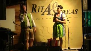 Rita und Andreas   Wer halt die Wunden dieser Welt Zillertal 30 Juni 2015