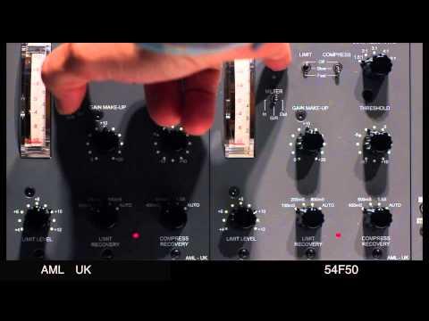 Bus Compression with AML 54F50  - Dreamy Folk Song