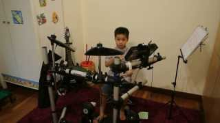 Cyrus Yap 6 year old drummer