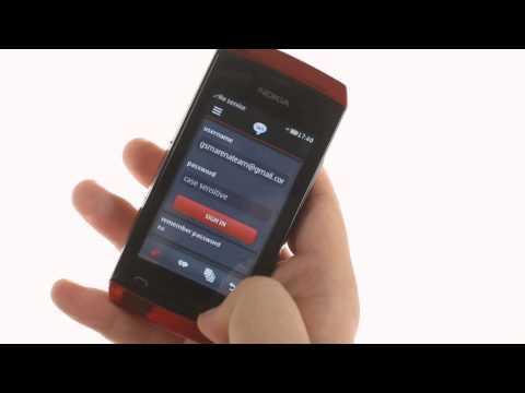 Nokia Asha 306 user interface