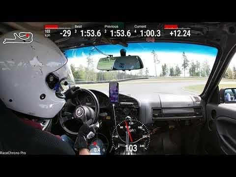5/12/19 Tss x revscene e36. Ridge motorsports park 1:51.7