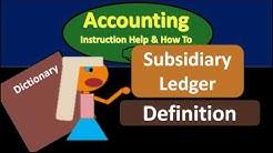 Subsidiary Ledger