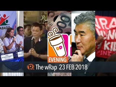 Sara Duterte's new party, Duterte on Malacanang ban, Medialdea meets US ambassador   Evening wRap