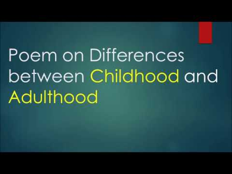 differences between child and adult 5 key difference between kids and here are 5 key differences between kids and adults that we need to be aware of children might be easy to excite and they.