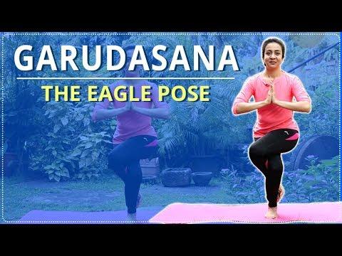 eagle pose  garudasana  simple yoga for beginners  mind body soul  youtube