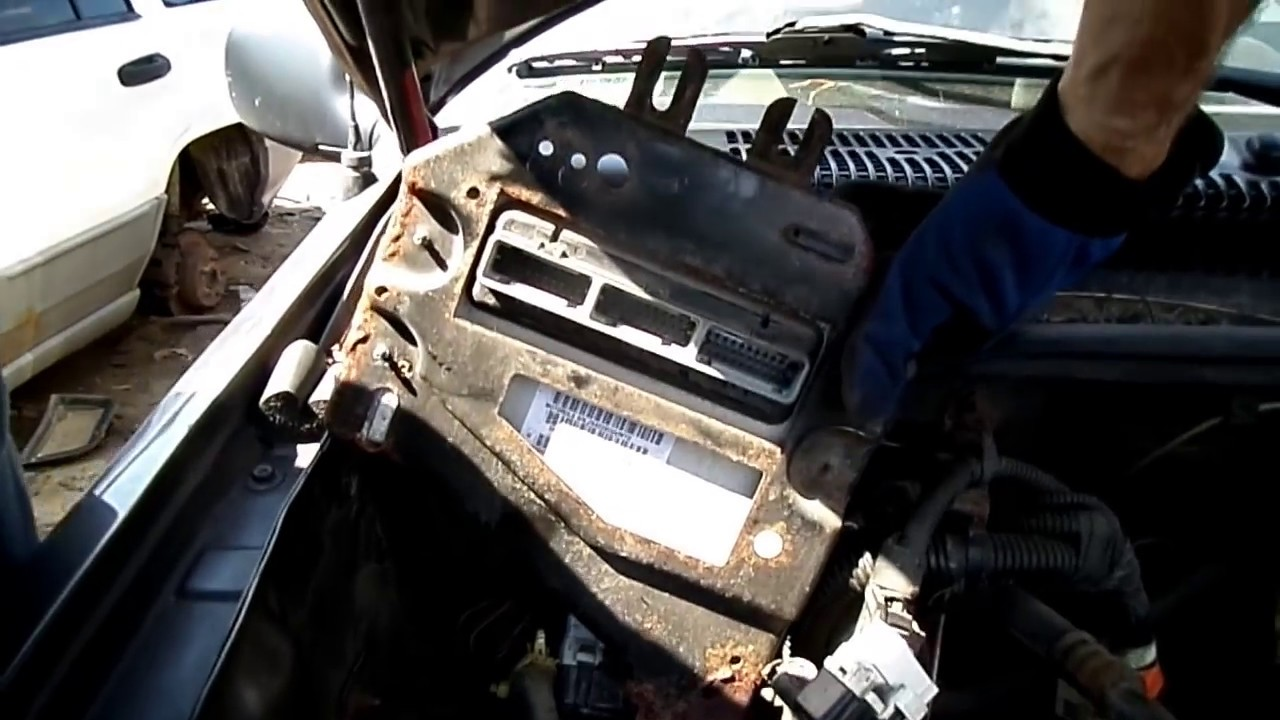 medium resolution of jeep grand cherokee computer removal