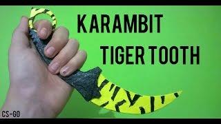 Karambit Tiger Tooth Yapımı [CS-GO]