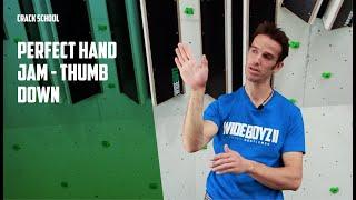 How to hand jam, thขmb down | Wide Boyz Crack School