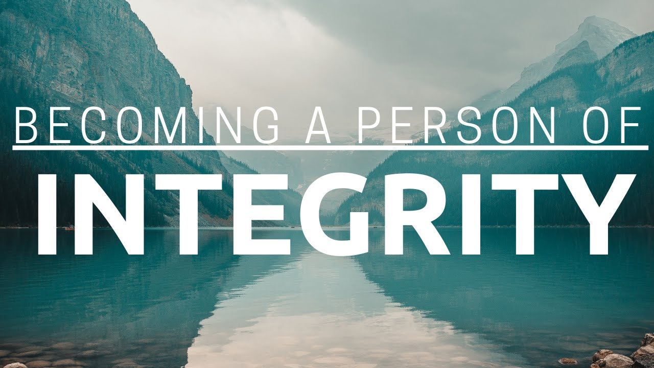 Becoming A Person Of Integrity - Sunday Morning - September 20, 2020 - Pastor McEachron