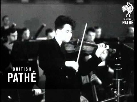 Prague Spring Music Festival Violin Competition AKA Prague Spring Music Festival (1949)