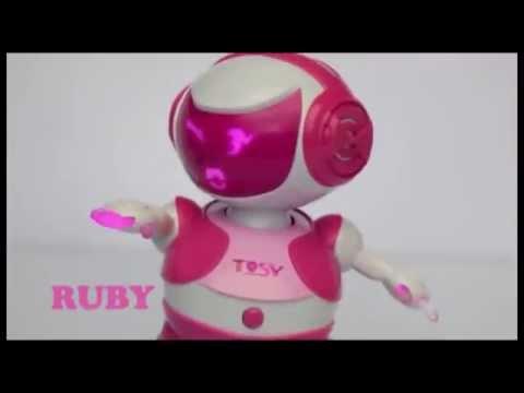 Quảng cáo Tosy Disco Robo nhảy cực hay cho bé