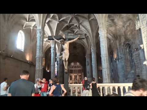 Lisbon-Belém -The Mosteiro dos Jeronimos (monastery) 里斯本-訪遊傑洛尼摩斯修道院