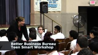 BBB Teen Smart Workshops