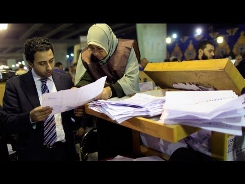 Muslim Brotherhood claims lead in Egypt poll