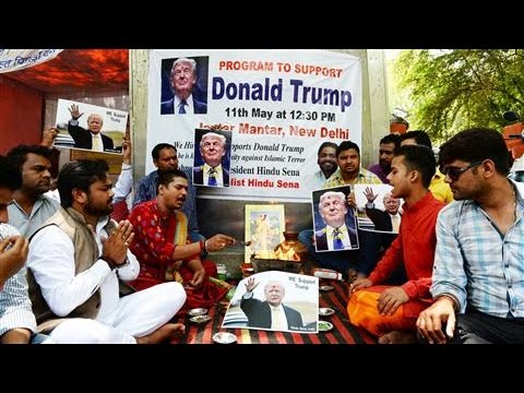 Hindu Nationalists in India Pray for Donald Trump