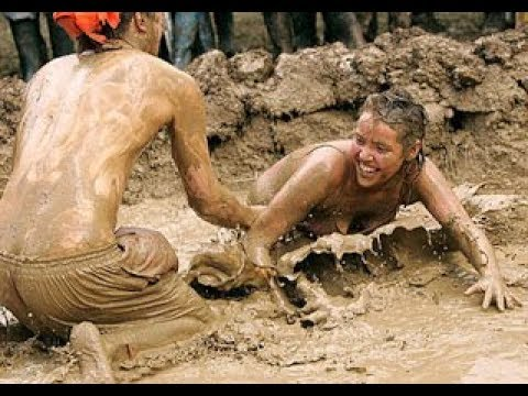 Download Dangerous mud fight wrestling cazy fight.
