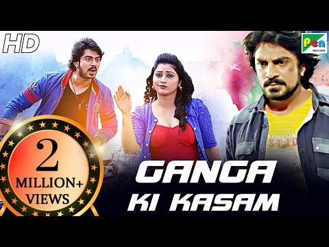 Ganga Ki Kasam | Jalsa | Full Hindi Dubbed Movie | Niranjan Wadayar, Akanksha, Sadhu Kokila