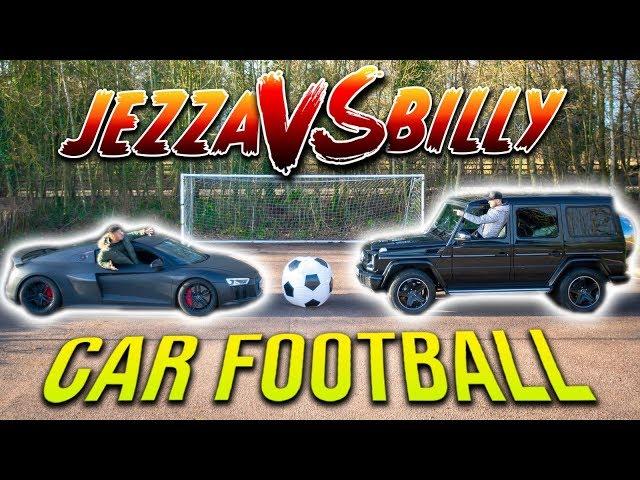 GIANT CAR FOOTBALL BATTLE | F2FREESTYLERS