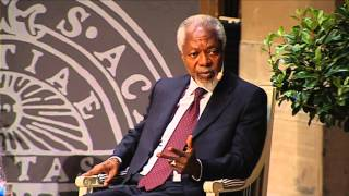 Repeat youtube video Kofi Annan visited Uppsala University