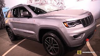 2019 Jeep Grand Cherokee Trailhawk - Exterior and Interior Walkaround - Detroit Auto Show 2019