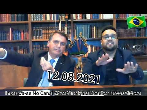 12/08/2021 DIRETO AO PONTO Live Presidente Jair Bolsonaro                                  olhocerto