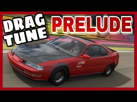 HONDA PRELUDE SI ( DRAG BUILD/TUNE ) - FORZA HORIZON 4 thumbnail