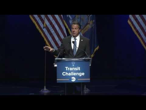 Governor Cuomo Delivers Remarks At MTA Transit Challenge