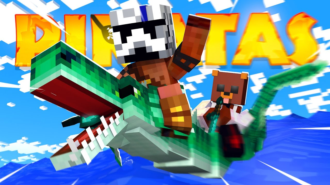 RUBIUS y ALEXBY ILEGALISIMOS - Minecraft Piratas