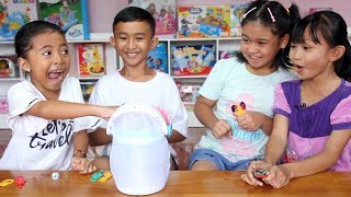 Unboxing Mainan Anak Happy Shark Game - permainan seru Awas ...