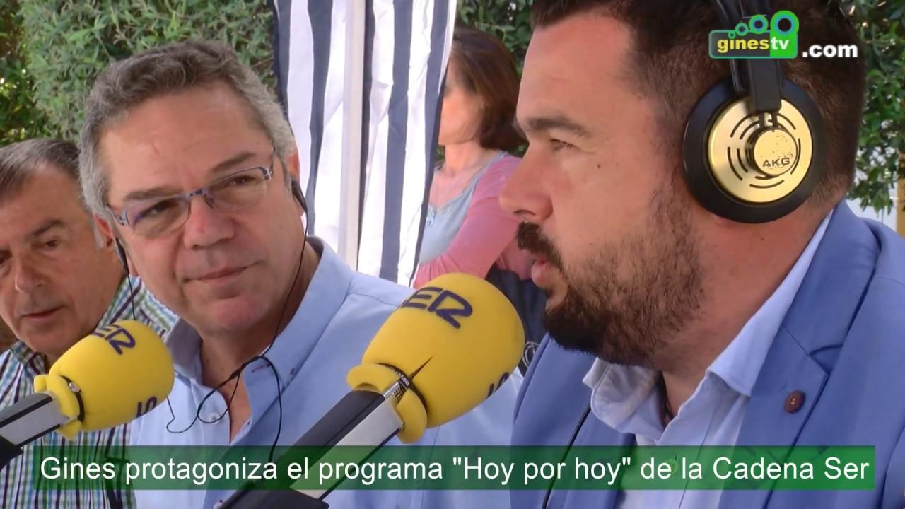 Gines protagoniza el programa 'Hoy por hoy' de la Cadena SER