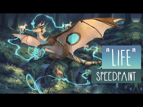 Life | SPEEDPAINT | Photoshop CC