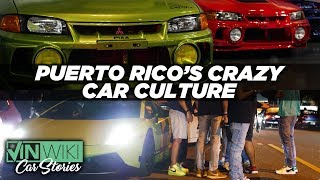 How insane is the car scene in Puerto Rico?