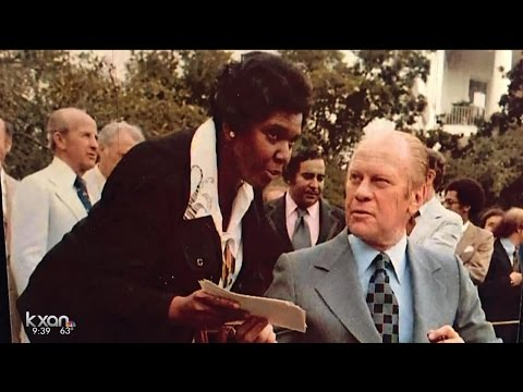 Barbara Jordan exhibit at the Capitol