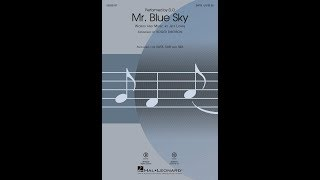 Download Mr Blue Sky (SATB) - Arranged by Roger Emerson MP3 - Matikiri