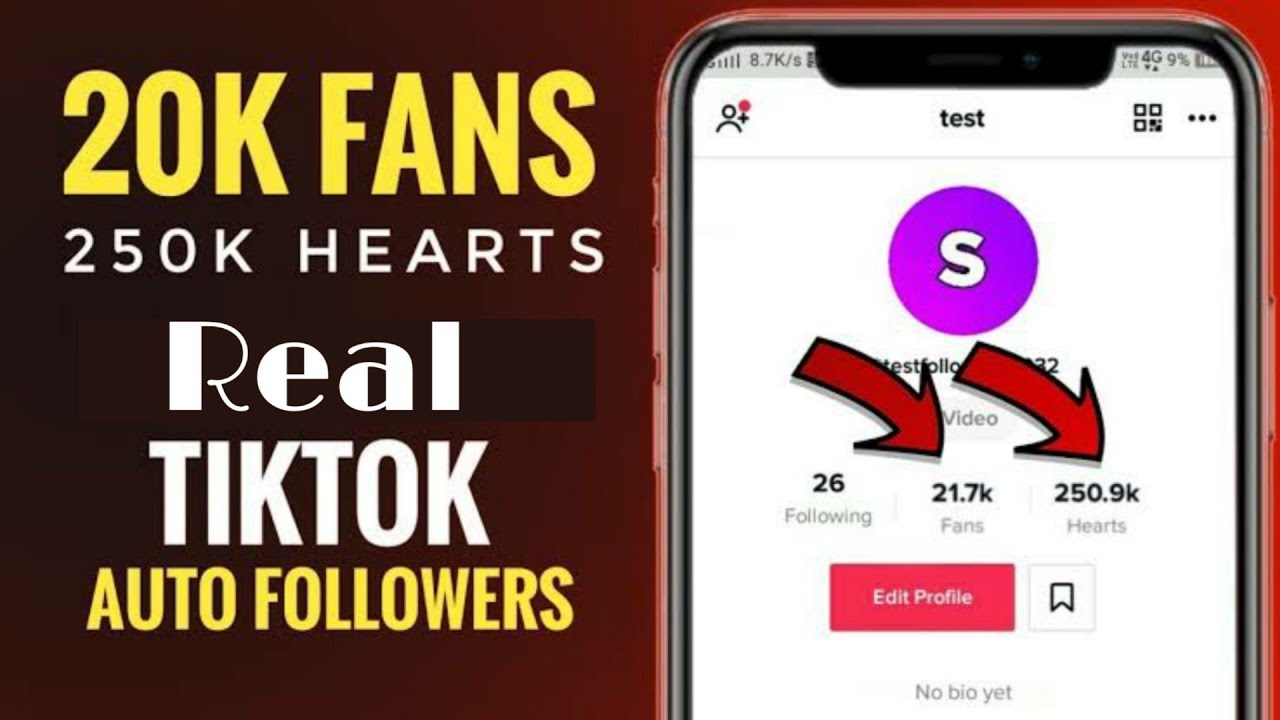 Download How To Get Real Tik-Tok Followers And Hearts   20K Fans And 250K Likes   100% Genuine Trick   Techno