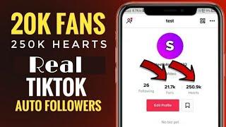 Download Tiktok New 250k Free Auto Fans And Auto Likes
