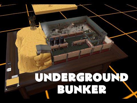Tabletop Simulator Battlemap - Undergound Bunker