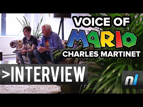 Charles Martinet Interview - Super Mario Maker, Voicing Mario and More