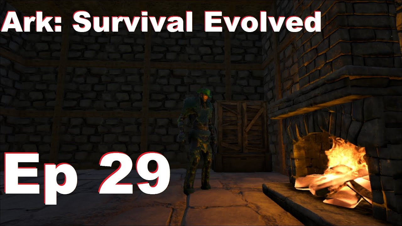 Amo Plays Ark: Survival Evolved - Ep 29 - Fireplace and Wooden ...