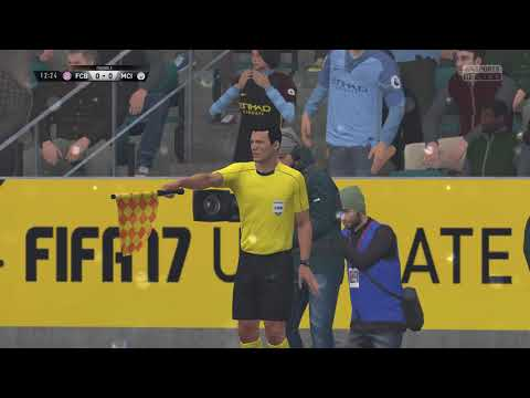 FIFA 17 : PC Native 4K60fps  Bayern vs Manchester City  - Rain & Action Packed Match