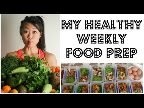MEAL PREP - HOW I PREPARE 11 HEALTHY MEALS FOR THE WEEK | My weekly meal prep | 11 MEALS 17 SNACKS