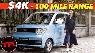 GM Makes A $4,000 Electric Car That Will Blow Your Mind! Here's Why You NEED One, But Can't Have It