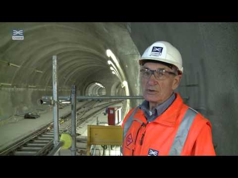 Crossrail shorts: View from track level at Whitechapel station